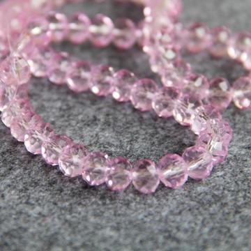 Guia de Cristal - transparente Rosa