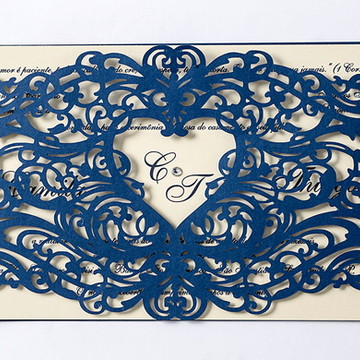 Convite de Casamento - CLS.036
