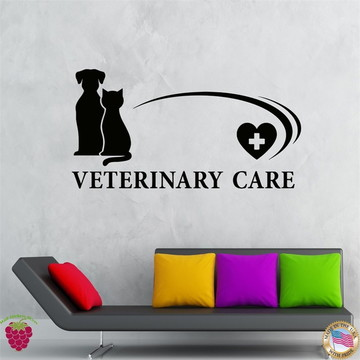 adesivo para Veterinário care