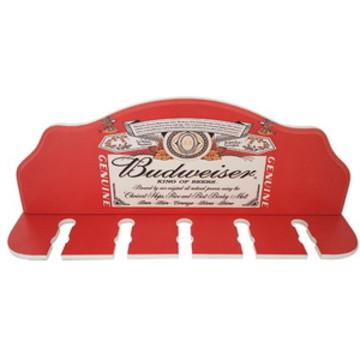 Porta-espetos Budweiser 40x15cm