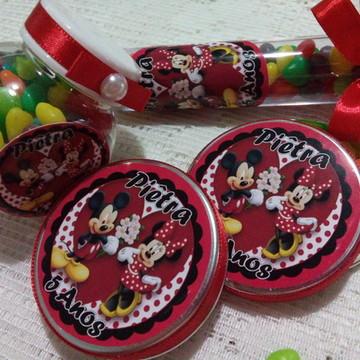 Kit lembranças Mickey & Minnie