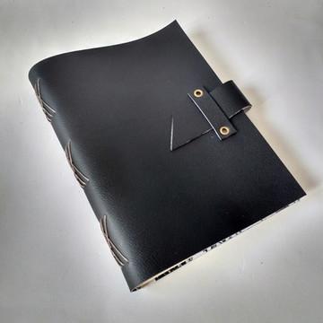 Caderno Couro Ecológico