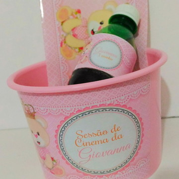 Kit cinema Ursinho Princesa