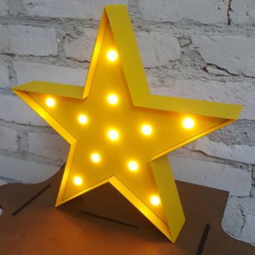 Luminária Estrela I - Led