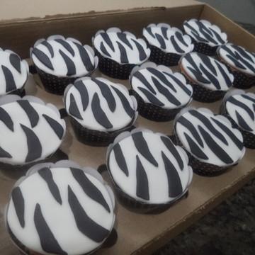 Cupcakes - Zebrinha
