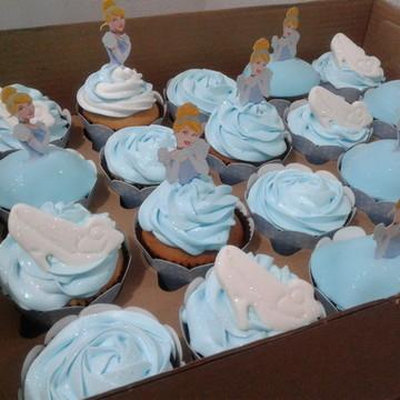 Cupcakes - Cinderela (Marshmallow)