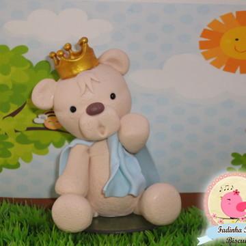 topo de bolo urso Principe