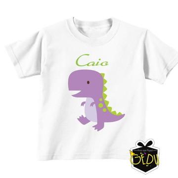 Dinossauro Baby Camiseta Infantil