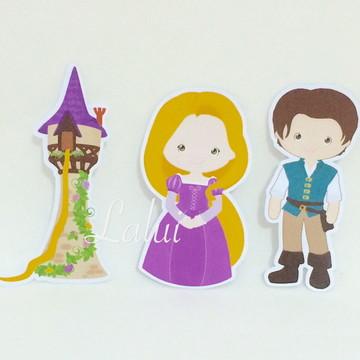 Aplique Tubete - Rapunzel / Enrolados