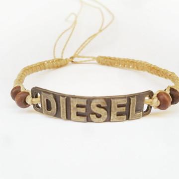 Pulseira Macramê Diesel
