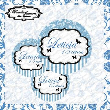 Adesivo Latinha Mint To Be Azul Turquesa