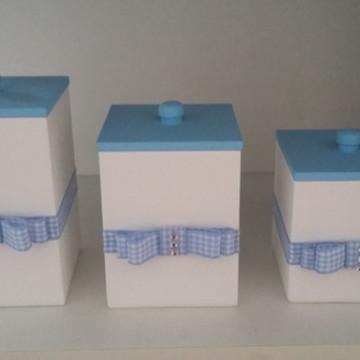 Potes de kit higiene Masculino