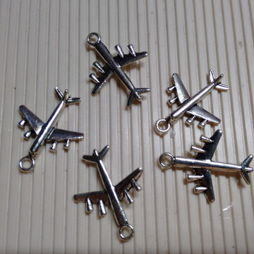Pingentes Avião (10 Unidades)