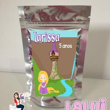 Enrolados Rapunzel - Saquinho Metalizado