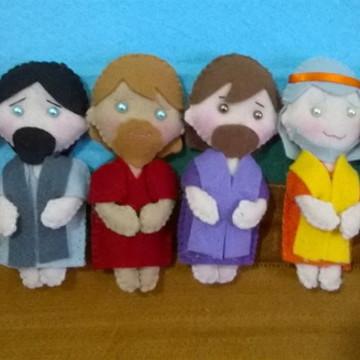 Personagens bíblicos 12 cm