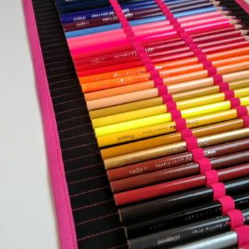 Estojo de Rolinho - 36 lápis