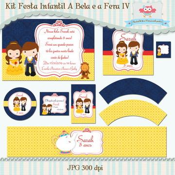 Kit Festa A Bela e a Fera IV