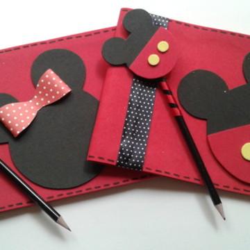 Caderno De Desenho Mickey