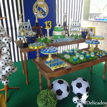 Decoração Tema Real Madrid