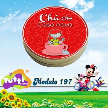 LATINHA CHÁ DE CASA NOVA