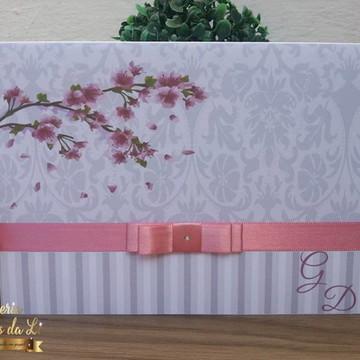 Promoção/Convite Casamento Floral/Elaboramos conforme o tema