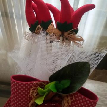 Buque de pimentas - casamento