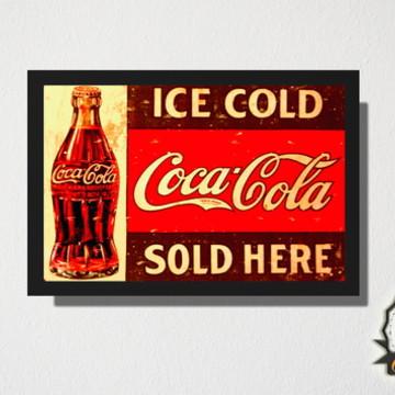 Quadro Coca Cola