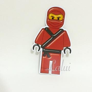 Aplique Tubete - Lego Ninjago