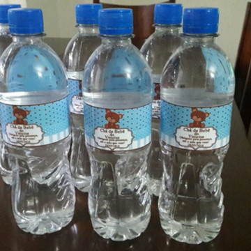 Rótulo Água Personalizado