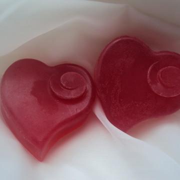 Sabonete Artesanal de Coração Grande
