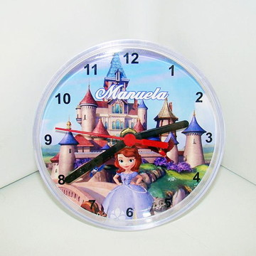 """Relógio de mesa """"Princesa Sofia"""""""
