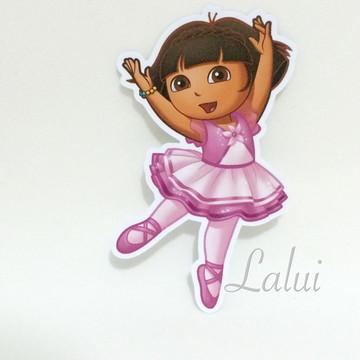 Aplique Tubete - Dora bailarina