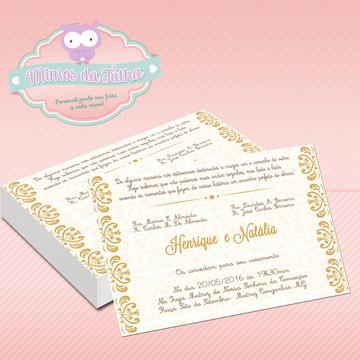 Convite Casamento Marrocos - DIGITAL