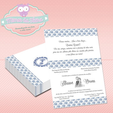 Convite Casamento Mar - DIGITAL