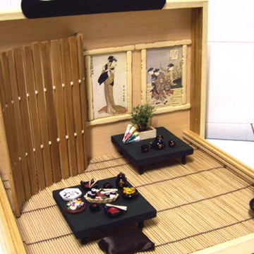 Roombox Cenário Oriental