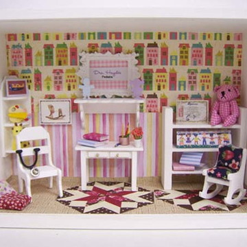 Roombox Cenário Médico Pediatra