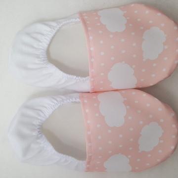 Sapatilha para festa pijama Buffet