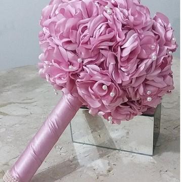 Buquê Flores em Tecido / Cor a escolher