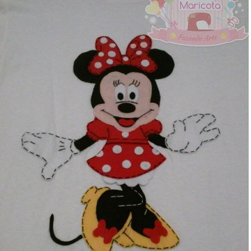 Camisa Personalizada Minnie Mouse