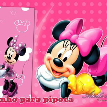 Saquinho Para Pipoca - Minnie