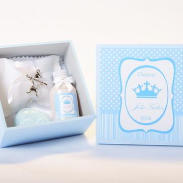 Lembrancinhas Nascimento Maternidade 5 Cx Especiais Menino