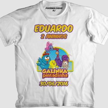 Camisa GALINHA PINTADINHA 001