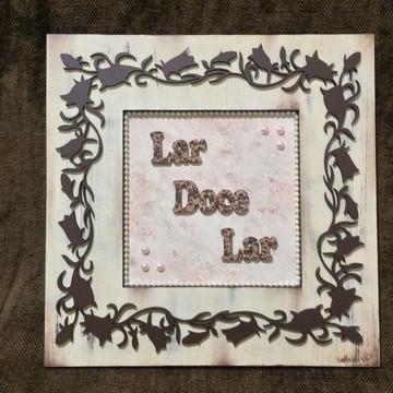 FM13 - Placa de porta Lar Doce Lar II