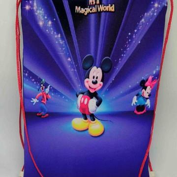 Mochilas ou Sacolas Tema Mickey