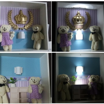 Mini luminária de parede 006