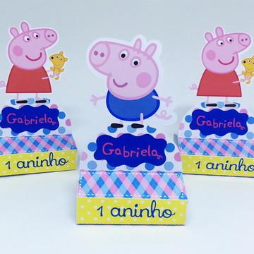 Rótulo para Chocolate Peppa Pig