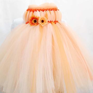 Vestido Infantil em Tule