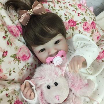 bebê reborn boneca Shyann Peruca !!!