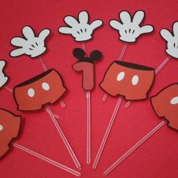Kit Topper Mickey 1 ano