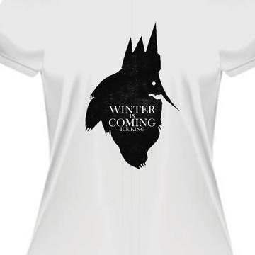 Camiseta rei gelado hora de aventura